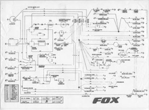Reliant Fox wiring diagram